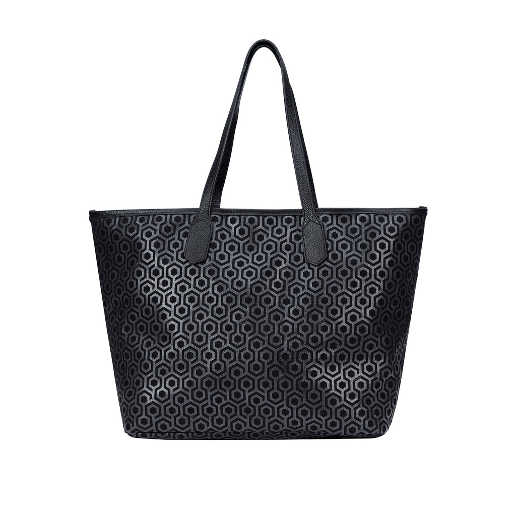 Jet Set Tote - Charcoal