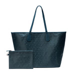 MISCHA Jet Set Tote - Fern (with pouch)