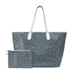 MISCHA Jet Set Tote - Palm (with pouch)