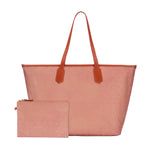 MISCHA Jet Set Tote - Rose (with pouch)