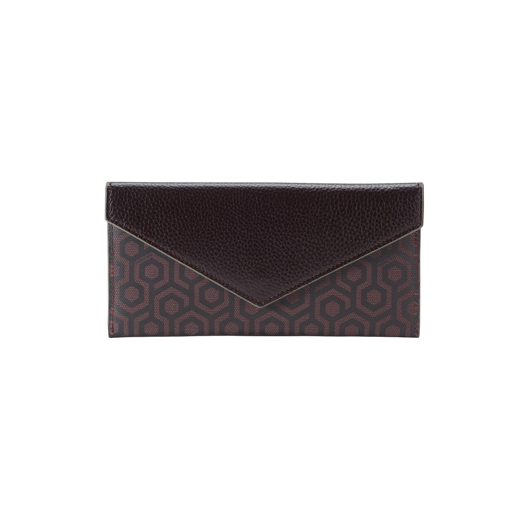 MISCHA Long Wallet - Rosewood