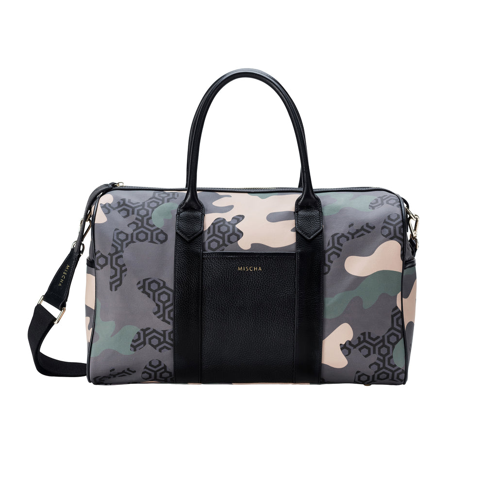 MISCHA Overnighter - Camo Green