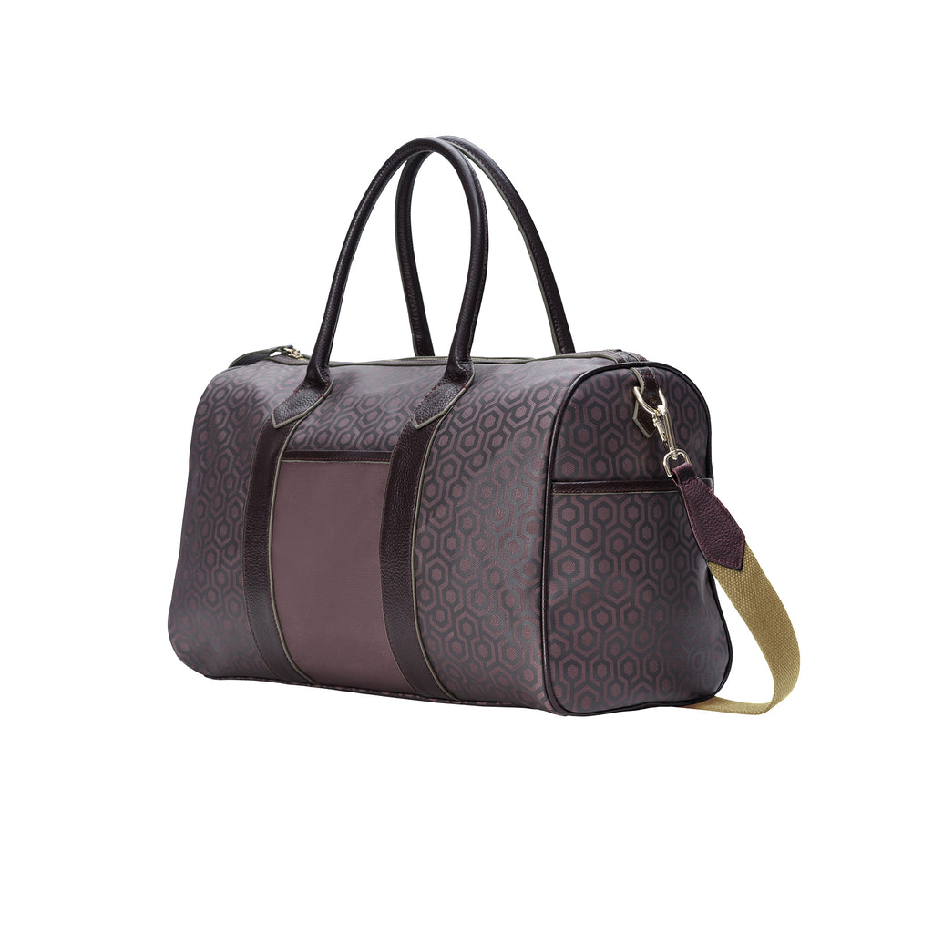 MISCHA Overnighter - Rosewood (side)