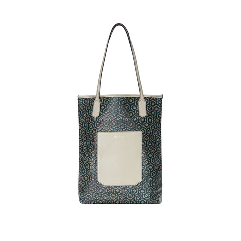 Monogram Crossbody - Stone