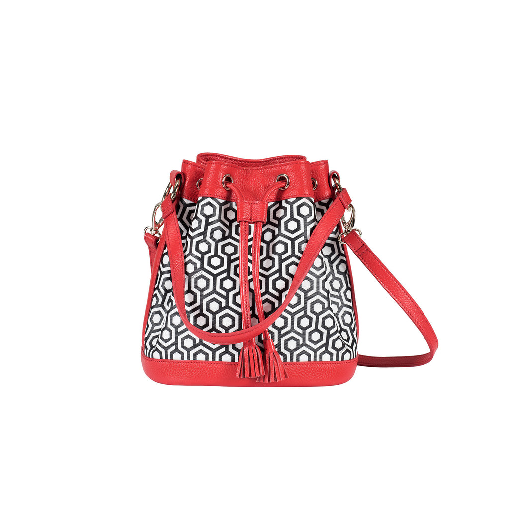 Mini Bucket Bag - Classic Red