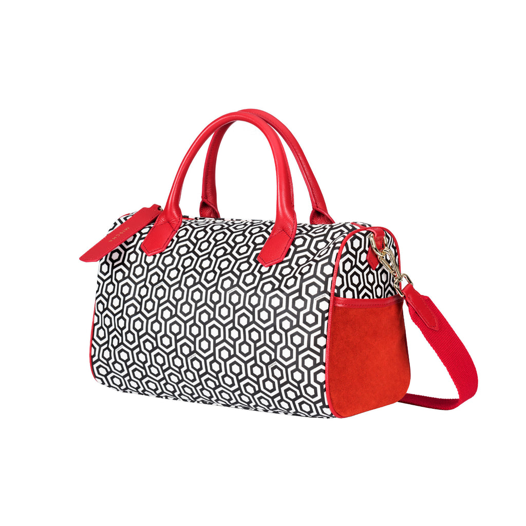 MISCHA Mini Overnighter - Classic Red (side)