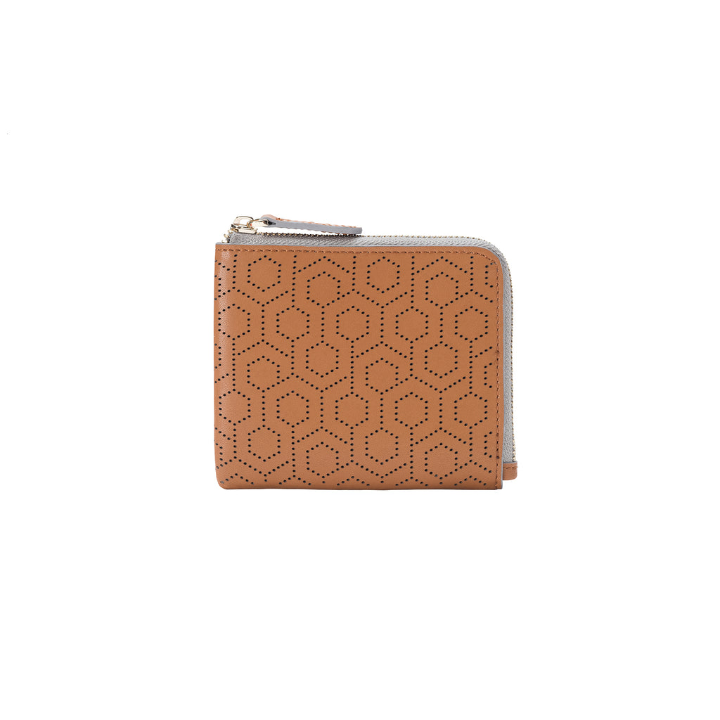 Zip Around Wallet - Oak