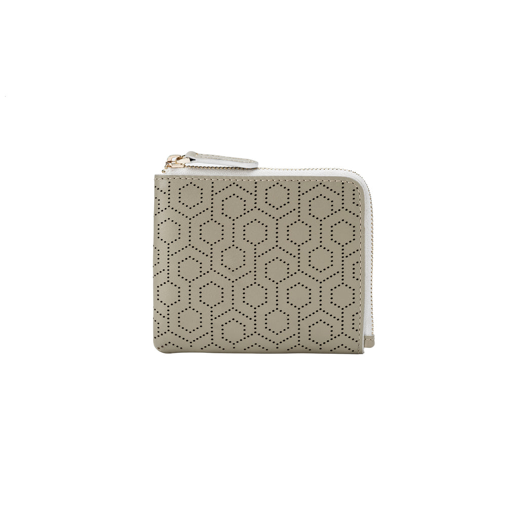 Zip Around Wallet - Stone
