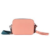 MISCHA Monogram Crossbody - Rose (back)