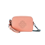 MISCHA Monogram Crossbody - Rose