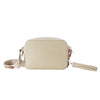 MISCHA Monogram Crossbody - Stone (back)