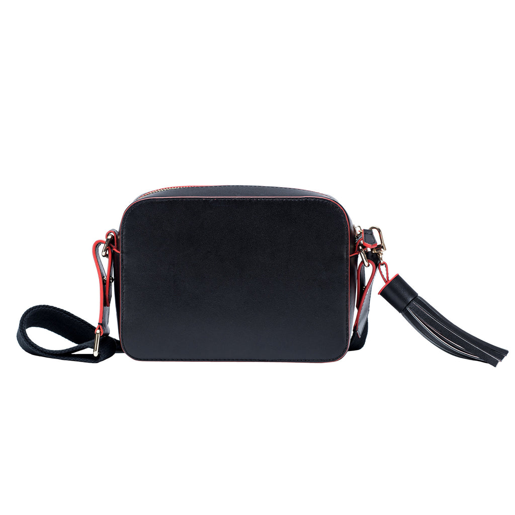 Monogram Crossbody - Black