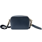 MISCHA Monogram Crossbody - Navy (back)