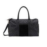 MISCHA Overnighter - Charcoal (with black strap)