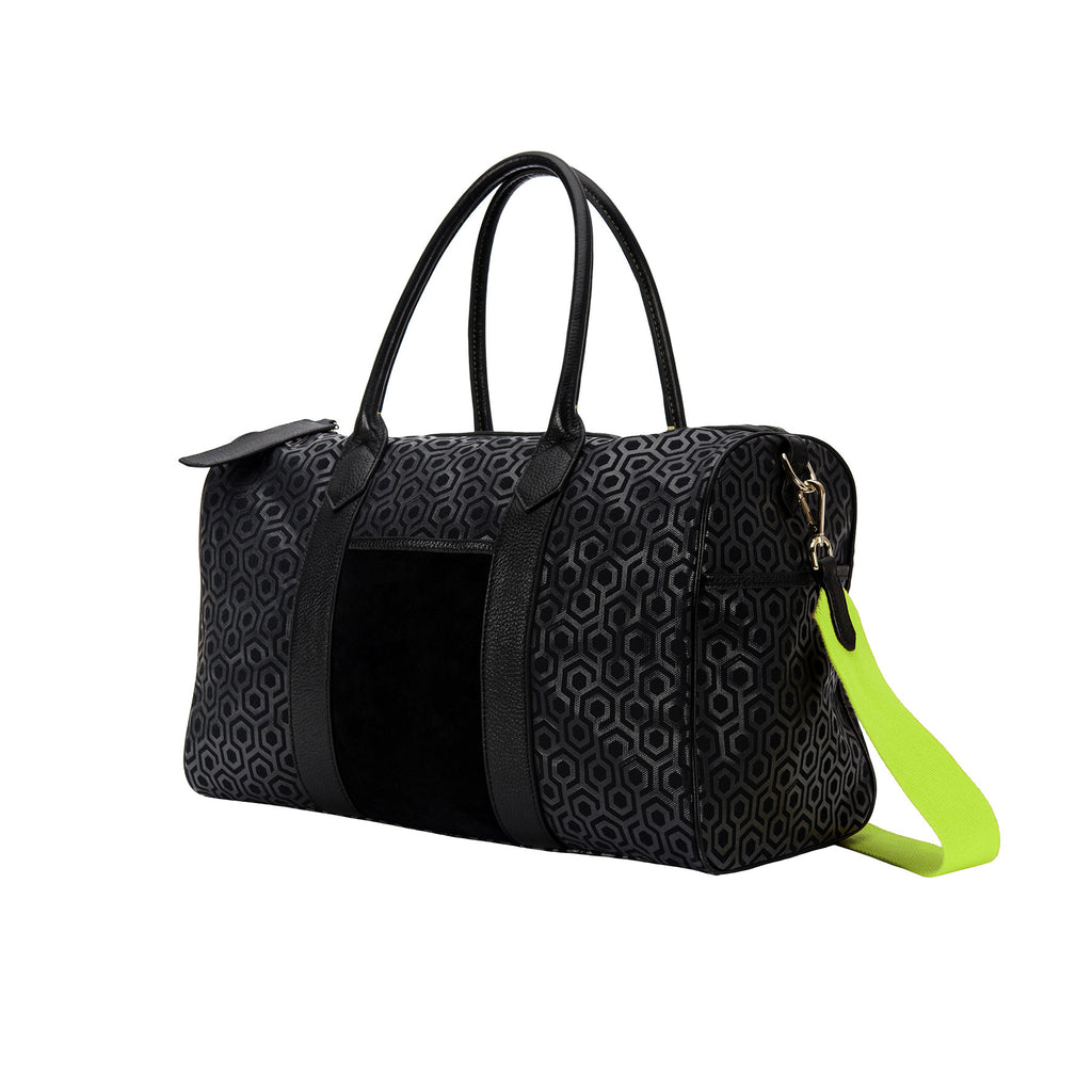 MISCHA Overnighter - Charcoal (side)