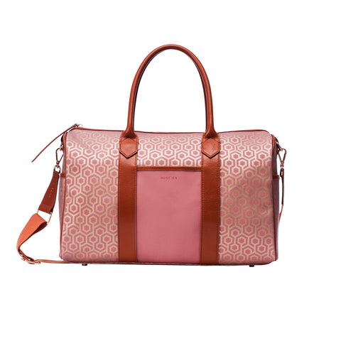 Monogram Crossbody - Rose