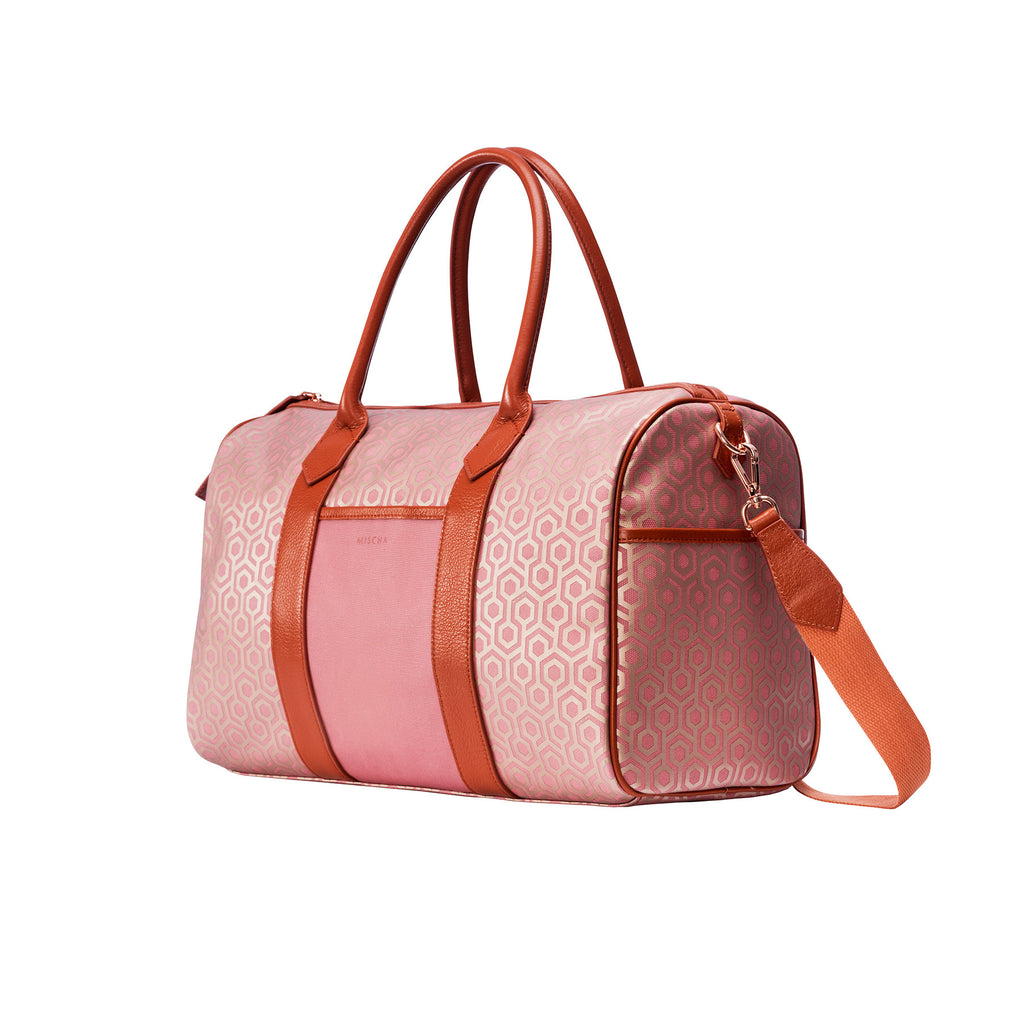 MISCHA Overnighter - Rose (side)