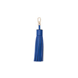 MISCHA Leather Tassel - Blue
