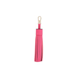 Leather Tassel - Pink