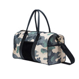 MISCHA Weekender - Camo Green (side)