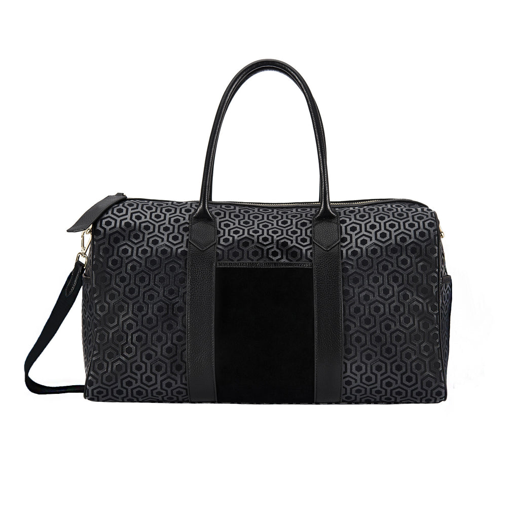 MISCHA Weekender - Charcoal (with black strap)
