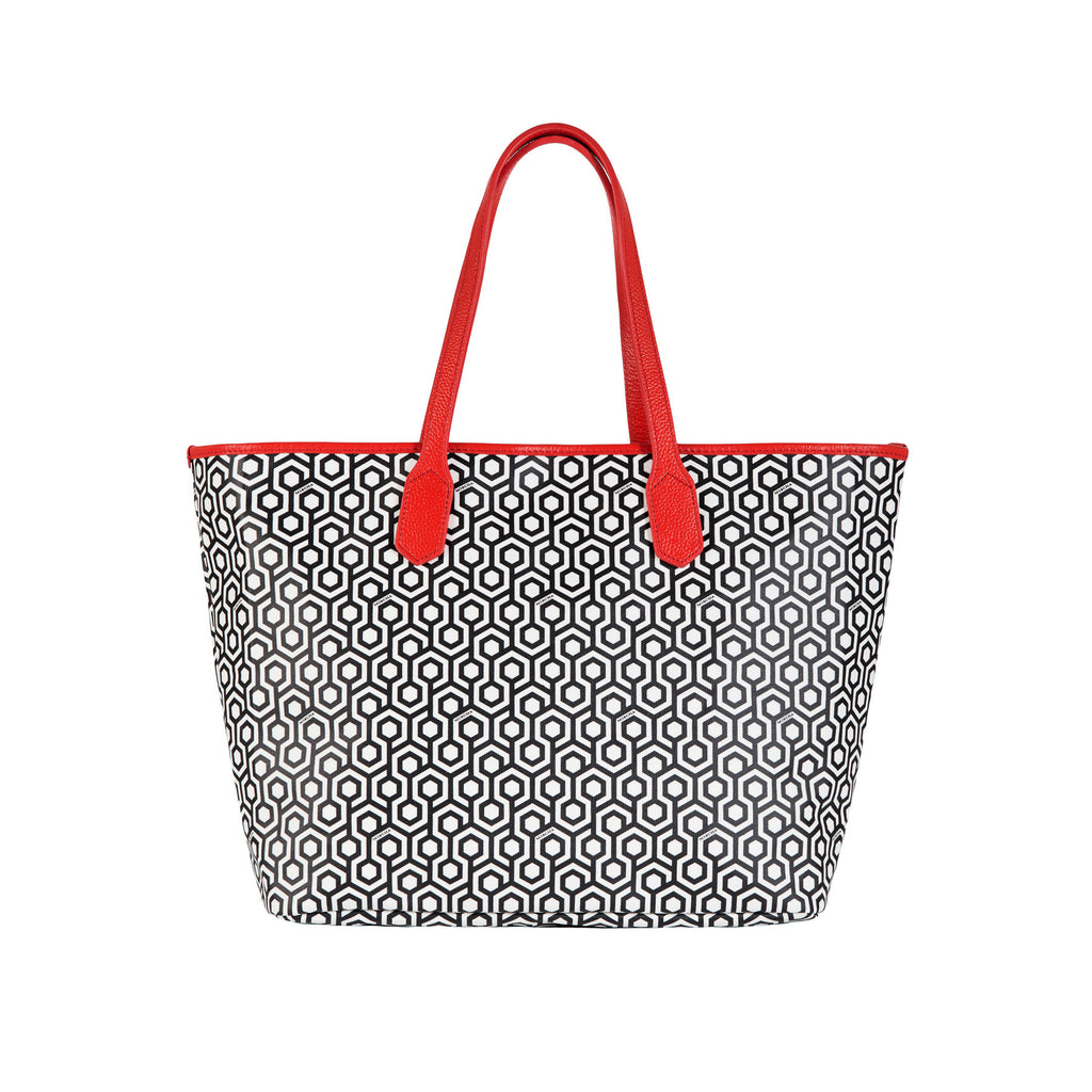 Jet Set Tote - Classic Red
