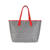 MISCHA Jet Set Tote - Classic Red (back)