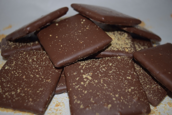 Chocolate Dipped Grahams