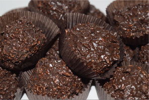 Dark Chocolate Coconut Haystacks