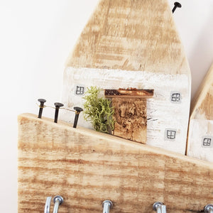 Rustic Reclaimed Pallet Wood Key Holder