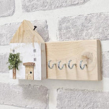 Load image into Gallery viewer, Rustic Pallet Wood Key Holder for Wall  - Personalised Gift