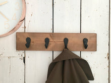 Load image into Gallery viewer, Wooden Wall Hooks