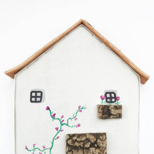 Wooden Cottage Key Holder