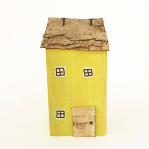 Wooden House Lawn Ornament