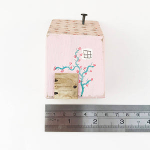 Pink House Ornament