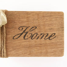Load image into Gallery viewer, Wood Home Decorative Word Block