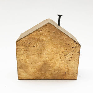 50th Anniversary Gifts Wooden House 50 Anniversary Decor