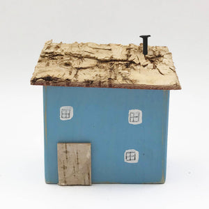 Reclaimed Wood House Miniature Gifts