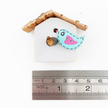 Load image into Gallery viewer, Bird House Fridge Magnet