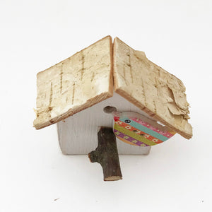 Bird House Fridge Magnet