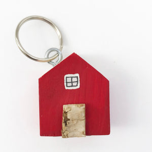 Red House Key Ring