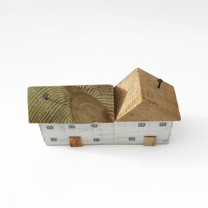 Wood Miniature Houses Wooden Decorations
