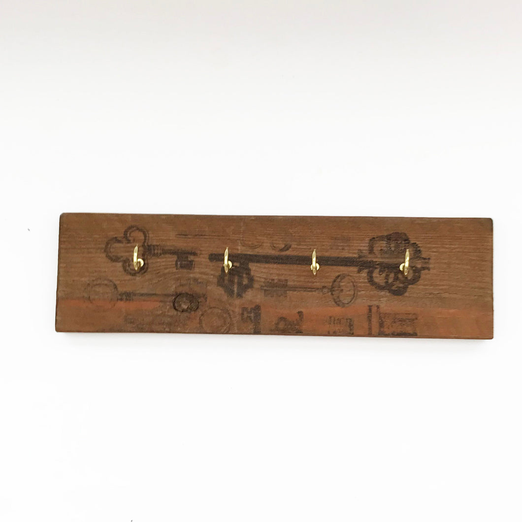 Wooden Pallet Key Holder for Wall Wooden Decor