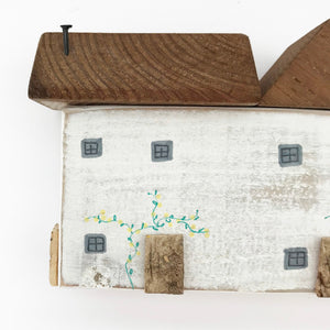 Cottage Decor Miniature Wooden Houses White Decor
