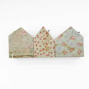 Decoupage Wooden Houses