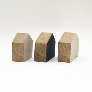 Wooden House Shapes Modern Wooden Houses Wood Modern Ornaments