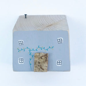Little Decorative Wooden House Hand Made Wooden Houses Wooden Mother's Day Gift
