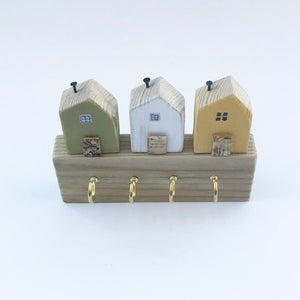 Tiny House Key Holder for Wall