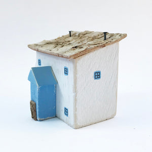 Wooden Houses Ornament Fishermans Cottage Wooden Houses Decor Small Wooden Gifts