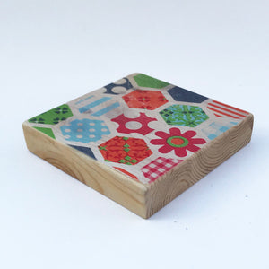 Modern Retro Wooden Coasters ***REDUCED***